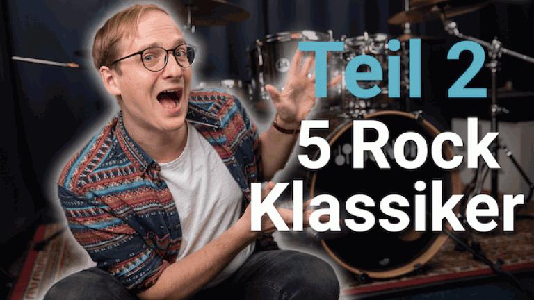 Schlagzeug Rock Beat - Teil 2