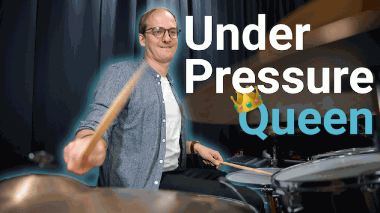 under pressure schlagzeug