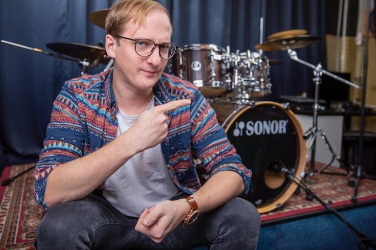 Schlagzeug Triolen gegen Achtel
