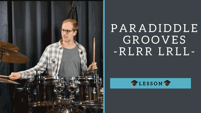 Paradiddle Grooves - Schlagzeug Tutorial
