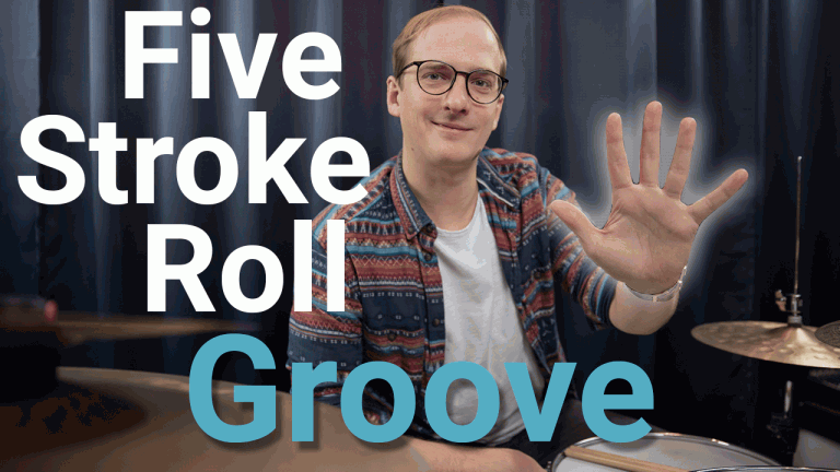 Five Stroke Roll Groove lernen