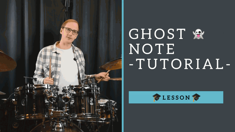 Ghost Notes Tutorial