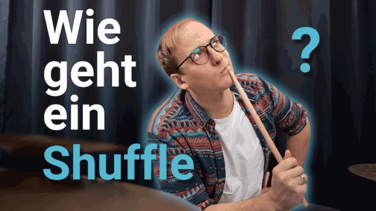 Schlagzeug Shuffle lernen